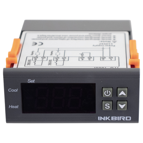 Inkbird Panel Mount Digital Temperature Controller (220V)