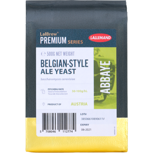 LalBrew® Abbaye Belgian Style Ale Yeast - Lallemand
