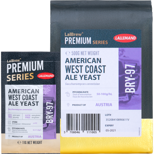 LalBrew® BRY-97 West Coast Ale Yeast - Lallemand