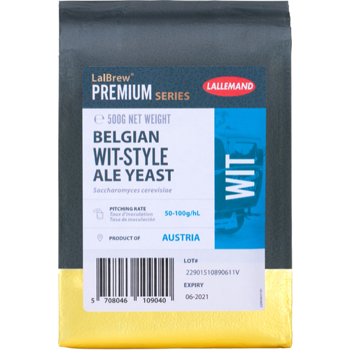 LalBrew® Wit Belgian Style Ale Yeast - Lallemand