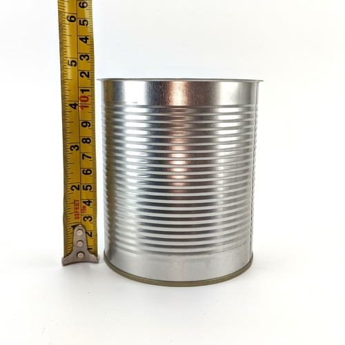 Tin Plated Steel Cans - 850ml/28.7 oz. (Case of 98)
