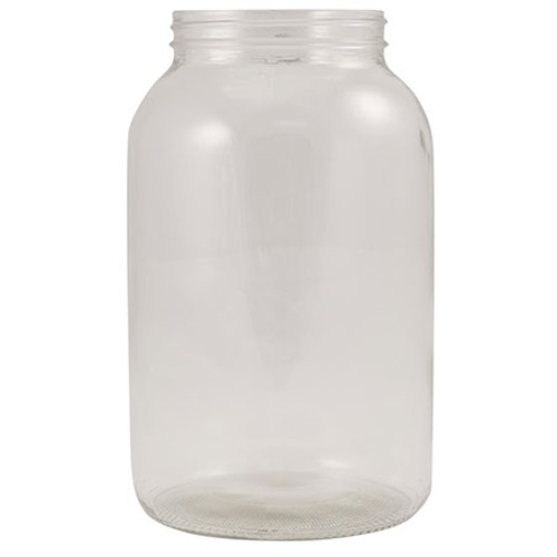 Lug Finish 1 Gallon Glass Fermentation Jar - No Lid