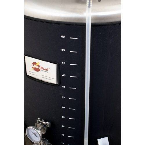 MoreBeer! Pro Brite Tank - 2 bbl With Reactor Cooling Rod and Jacket