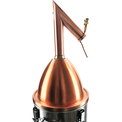 AlcoEngine Copper Alembic Distillation Lid