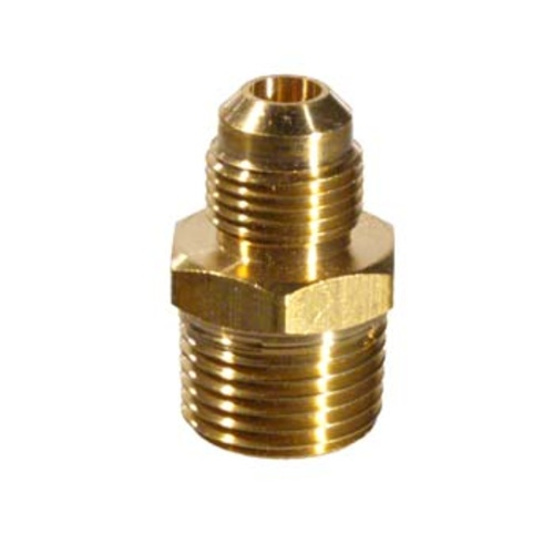 Gas Pipe Adapter - 1/2'' mpt x 3/8'' Male Flare