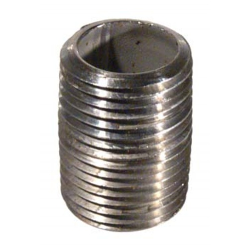 Stainless Nipple - 1/2'' x 1