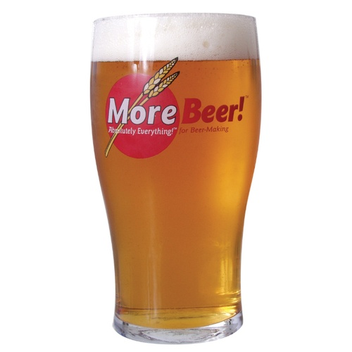 MoreBeer!® Imperial Pint Glass (20 oz)